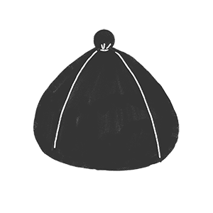 帽子の形 A